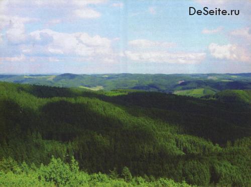 Blick in die Oberbergische Landschaft