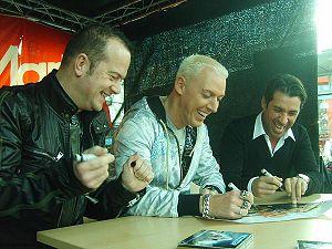 Автограф-сессия осенью 2008 г.