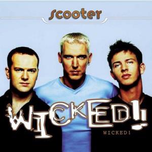 Обложка альбома «Wicked!» Слева направо — Рик Джордан, Эйч Пи Бакстер, Феррис Бюллер