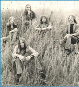 1972: Michael Schenker, Joe Wyman, Lothar Heimberg, Klaus Meine, Rudolf Schenker