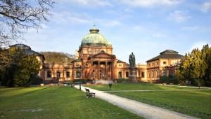 Здание водолечебницы Kaiser Wilheims Bad