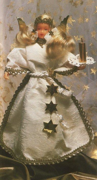"""Рождественские поделки своими руками. Украшение """"Ангел"""""""