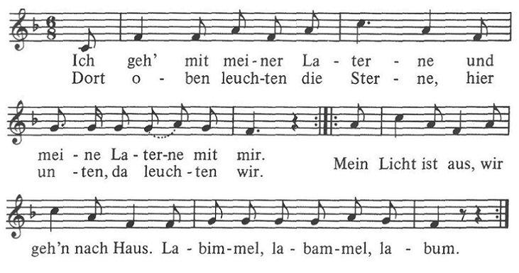 День святого Мартина в Германии