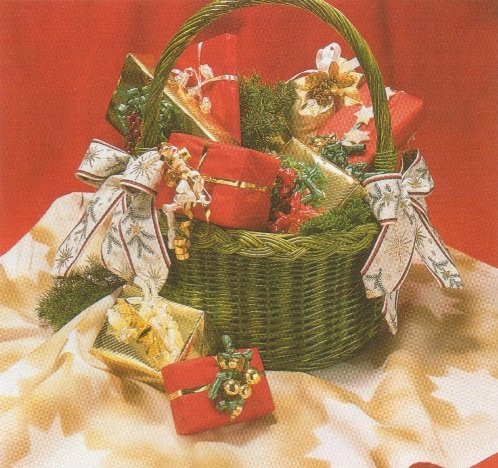 "Адвент-календарь ""Корзинка с подарками"""