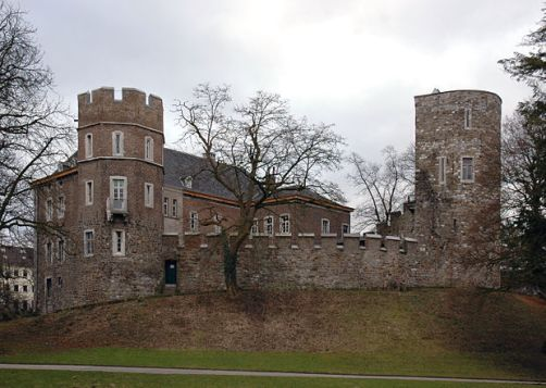 Замок Франкенберг (Burg Frankenberg) Аахен