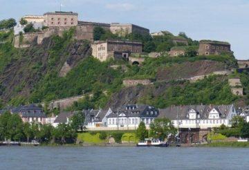Эренбрайтштайн - крепость в Германии