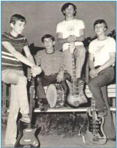Рок-группа Scorpions в 1965 году