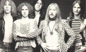 1975: Francis Buchholz, Klaus Meine, Rudy Lenners, Uli Roth, Rudolf Schenker