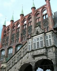 Портал-украшение ратуши