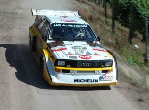 Audi Quattro S1 на Ралли Германии 2007 года