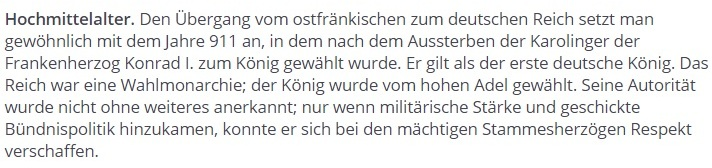 История Германии. Раннее Средневековье