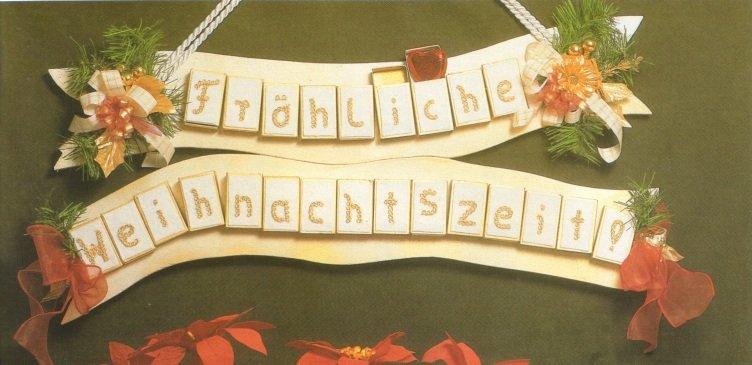 Календарь адвента из спичечных коробков
