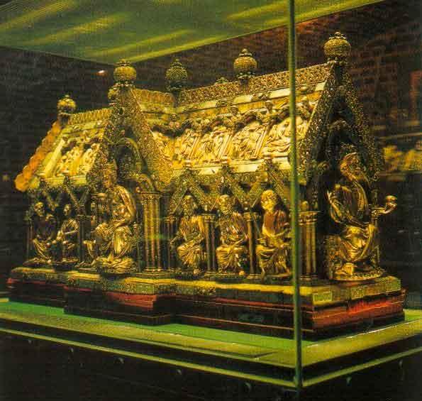 Реликварий Марии - Marienschrein, Ахенский собор