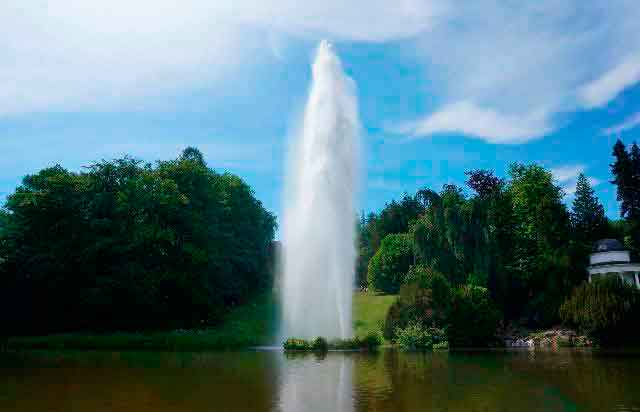 Природный парк, фонтан