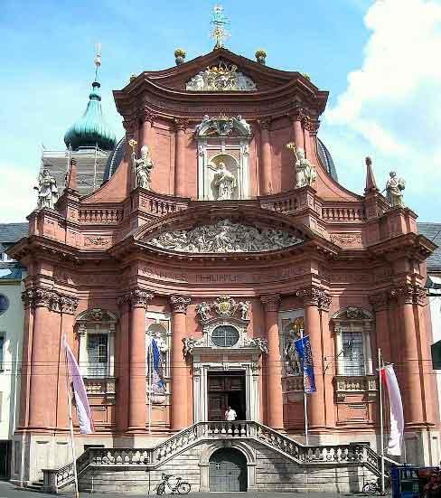 Барочная церковь Ноймюнстер