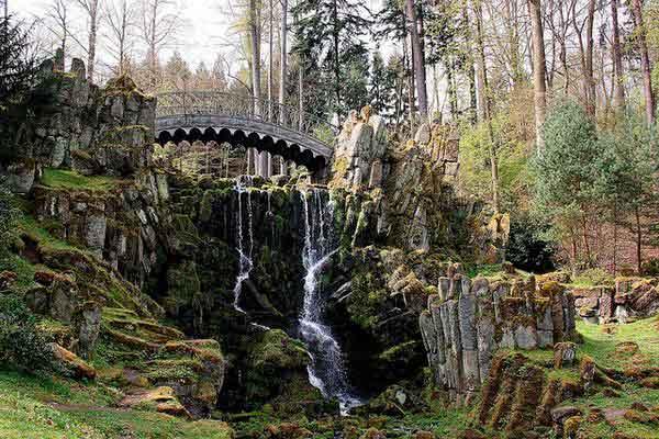 горный парк, мост