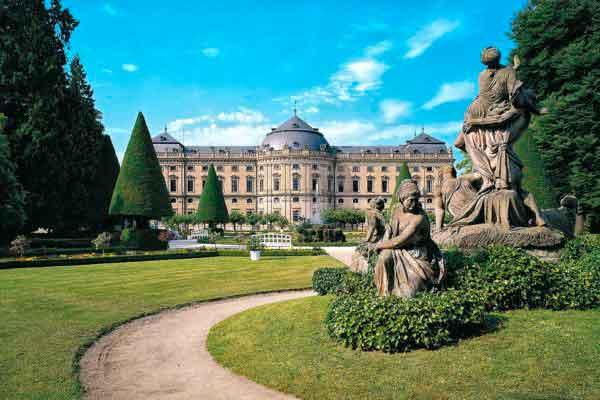 Вюрцбургская резиденция - Würzburger Residenz