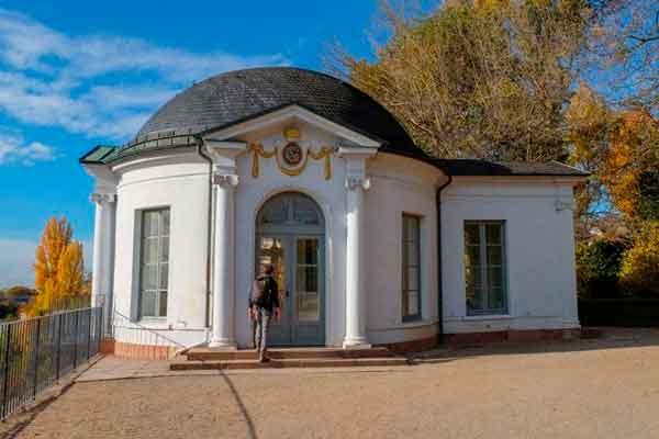 Gartenpavillon im Schlossgarten