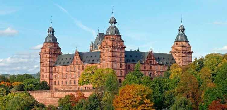 Достопримечательности Ашаффенбурга, замок Йоханнесбург