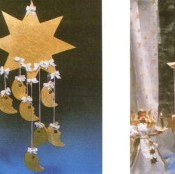 Декорация для окна «Месяц и звезды»